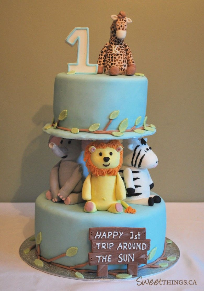 Babys First Birthday Cakeso cute baby Pinterest