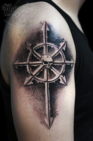 Chaos By Miguel Angel Tattoo Artist Richmond Uk