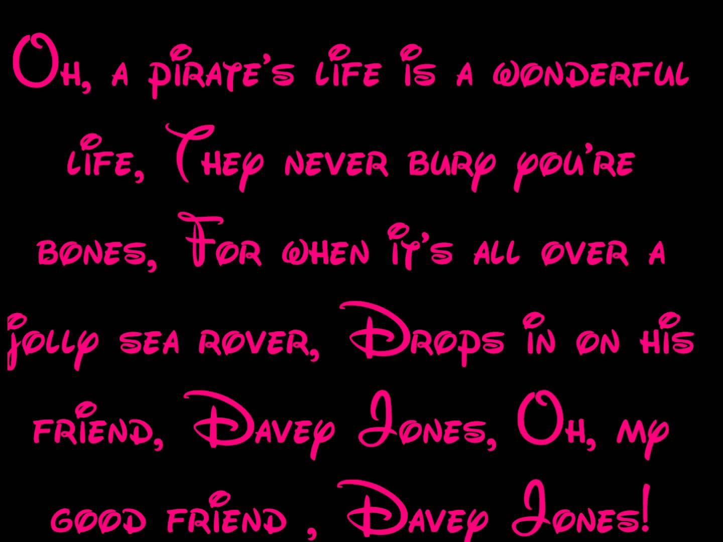 A Pirate S Life