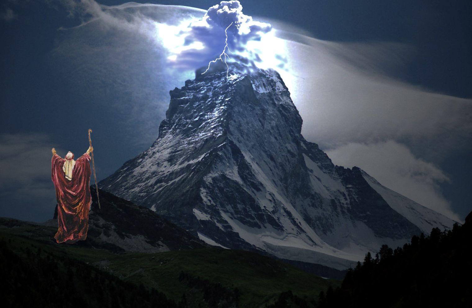 the holy mountain of yahweh God | mountainpeakwith ...