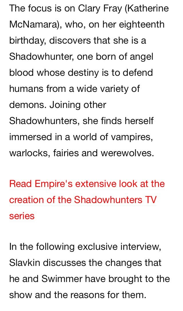 Empire article about season 2 part 3