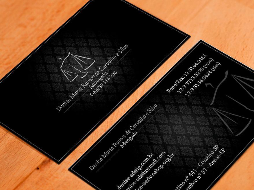 Populares Cartão de Visita Advogados … | Pinteres… VL32