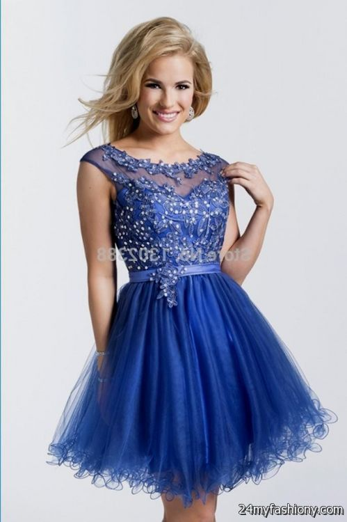 short royal blue prom dresses 2016-2017 » B2B Fashion | kassie ...