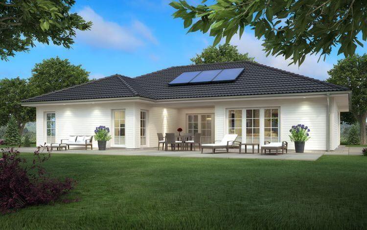Traumhaus bungalow  SH 169 WB mit Holzfassade | Haus | Pinterest | Grundriss bungalow ...
