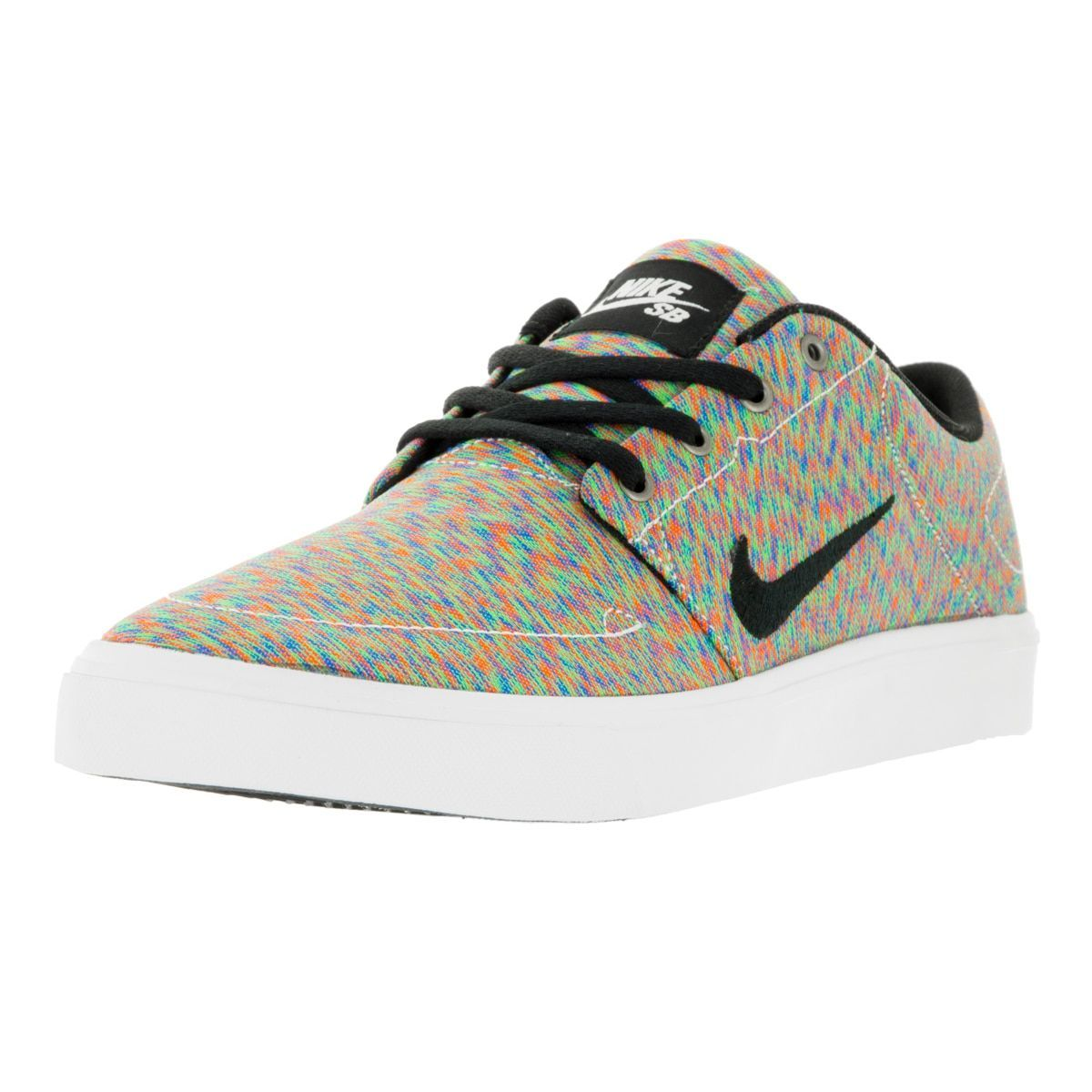 Nike Men's SB Portmore Cnvs Premium -Color/Black/White Skate Shoe