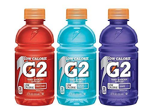 Gatorade G2 Perform Low Calorie Drink Variety Pack 216 Ounce Pack