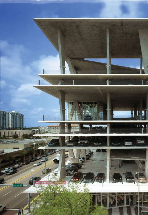 Herzog and de meuron 111 lincoln road miami fl for Garage volkswagen hoenheim