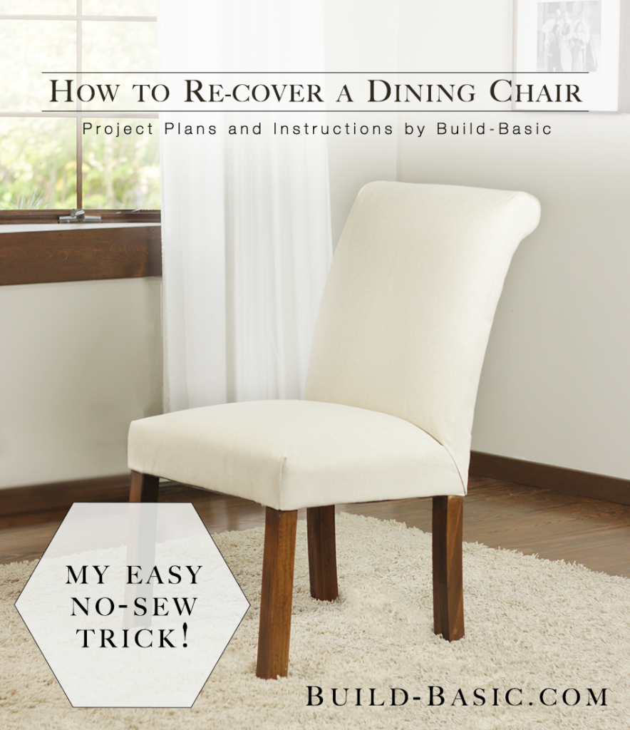 How to Re-Cover Dining Chairs (Without a Sewing Machine) I\'ve been ...