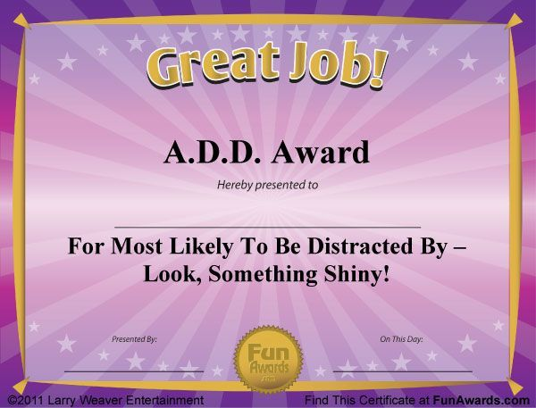Office Gag Certificates   Google Search