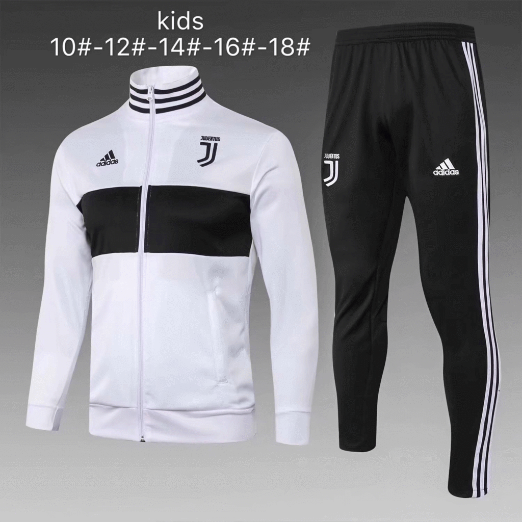 89477aeb88 Juventus 18/19 White Kids ( Youth) Jacket Tracksuit Slim Fit – zorrojersey