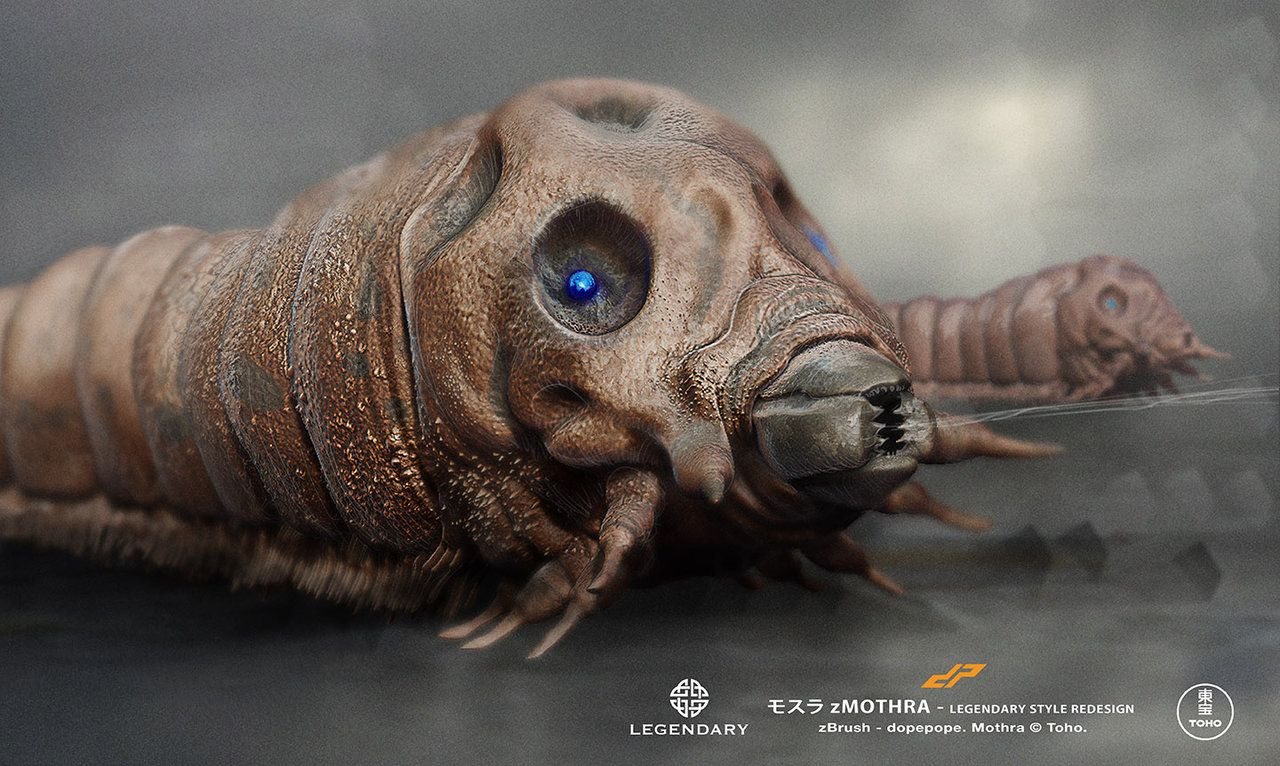 zmothra larvae by dopepopedeviantartcom on deviantart