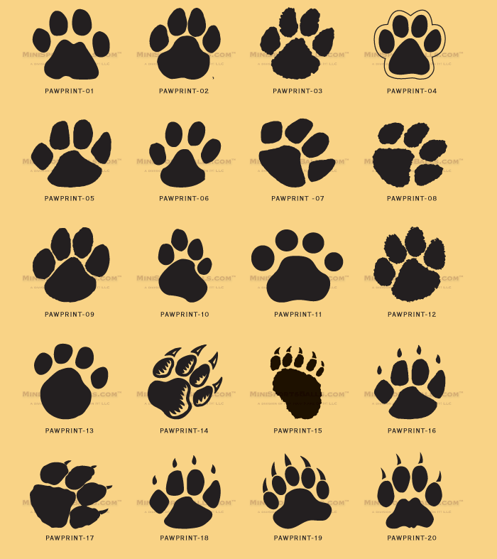Paws Tattoo Designs for Women | , kids, and everybody. Paw print ...