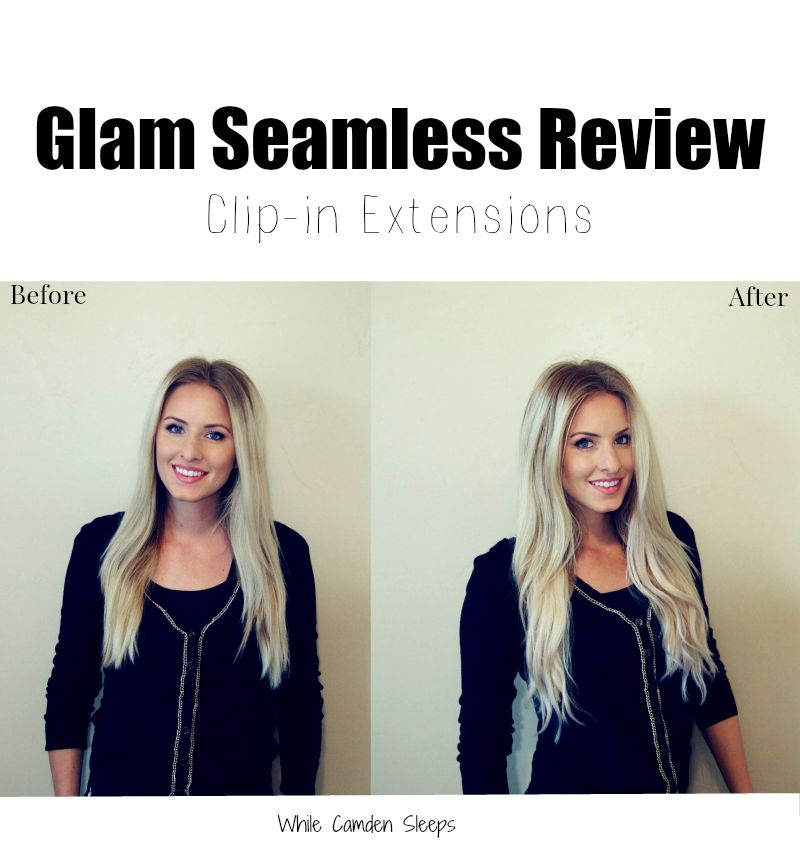 Glam Seamless Clip In Hair Extension Review Use Promo Code Camden