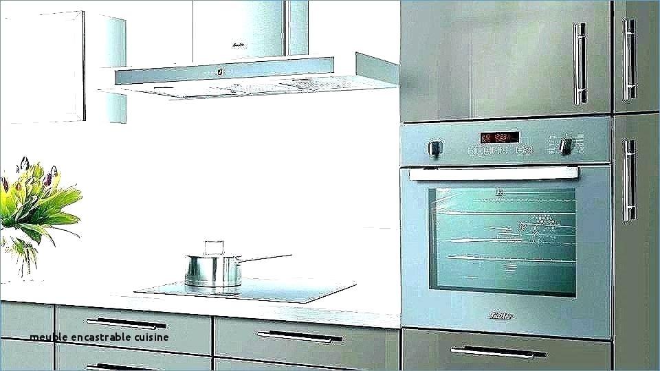 meuble pour plaque de cuisson et four