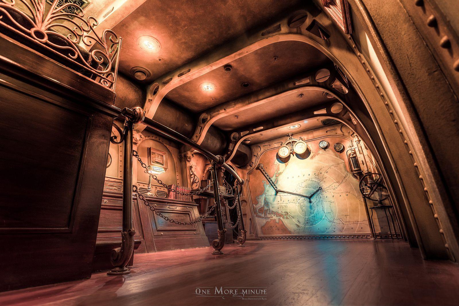 Welcome Inside The Nautilus Disneyland Paris Space Mountain