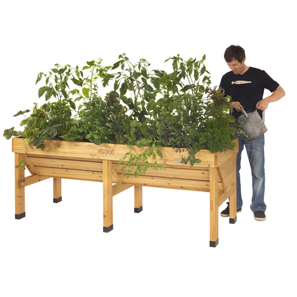 Veg Trug Raised Bed Planter Elevated Garden Beds Garden Beds Raised Planter Beds