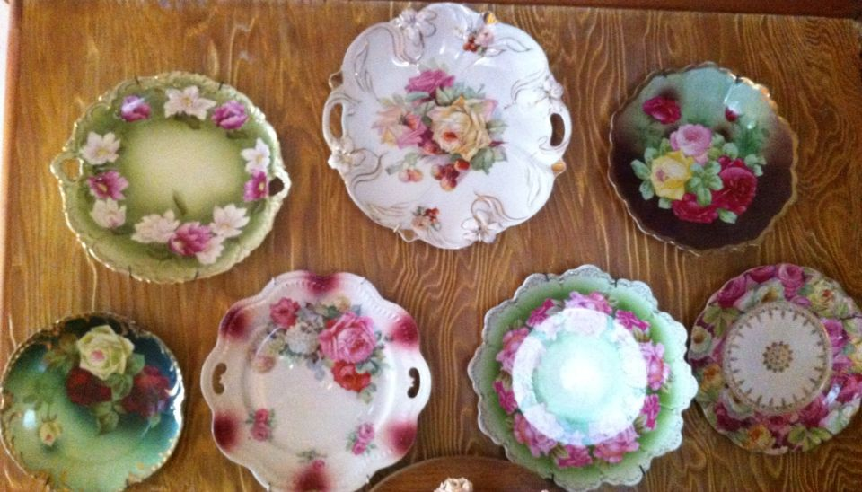 Some of my old plates | Bloomin~Breakables | Pinterest