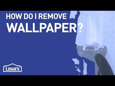 Removing wallpaper can be tricky. Learn the easiest and