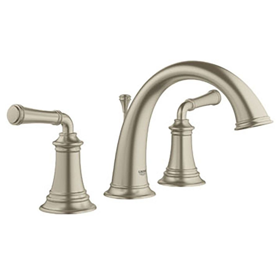 Grohe Gloucester Brushed Nickel 2 Handle Widespread