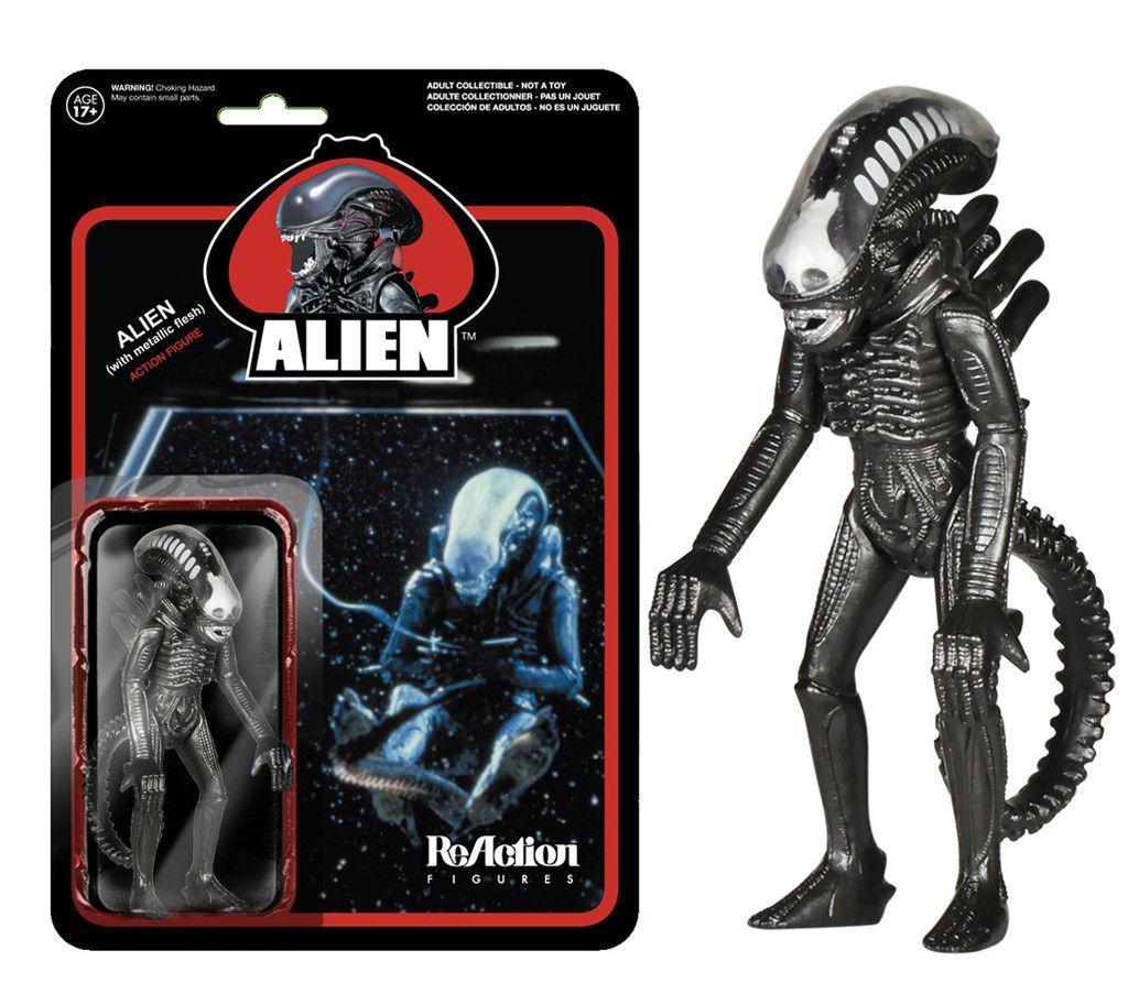Alien Metallic Reaction Figure Alien Action Figures Action Figures Alien