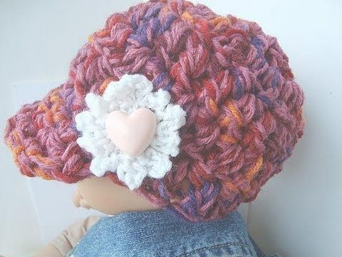 CROCHET A NEWSBOY HAT | Craft Ideas | Pinterest