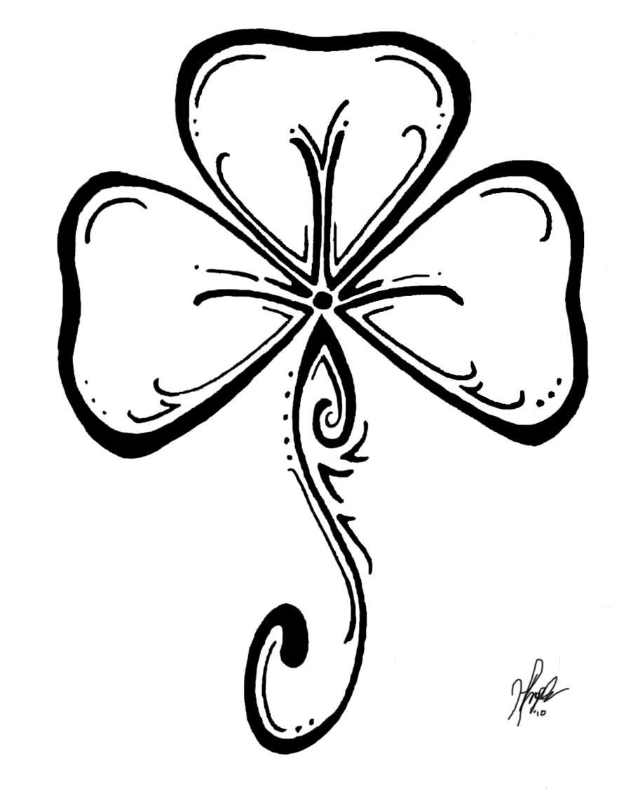 Shamrock Coloring Pages | Shamrock coloring pages for kids 900 x1125 ...