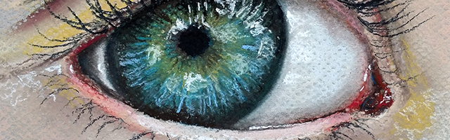 Paint a Realistic Eye with Pastels