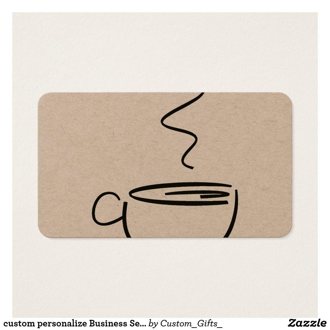 custom personalize Business Service Desk office Business Card ...