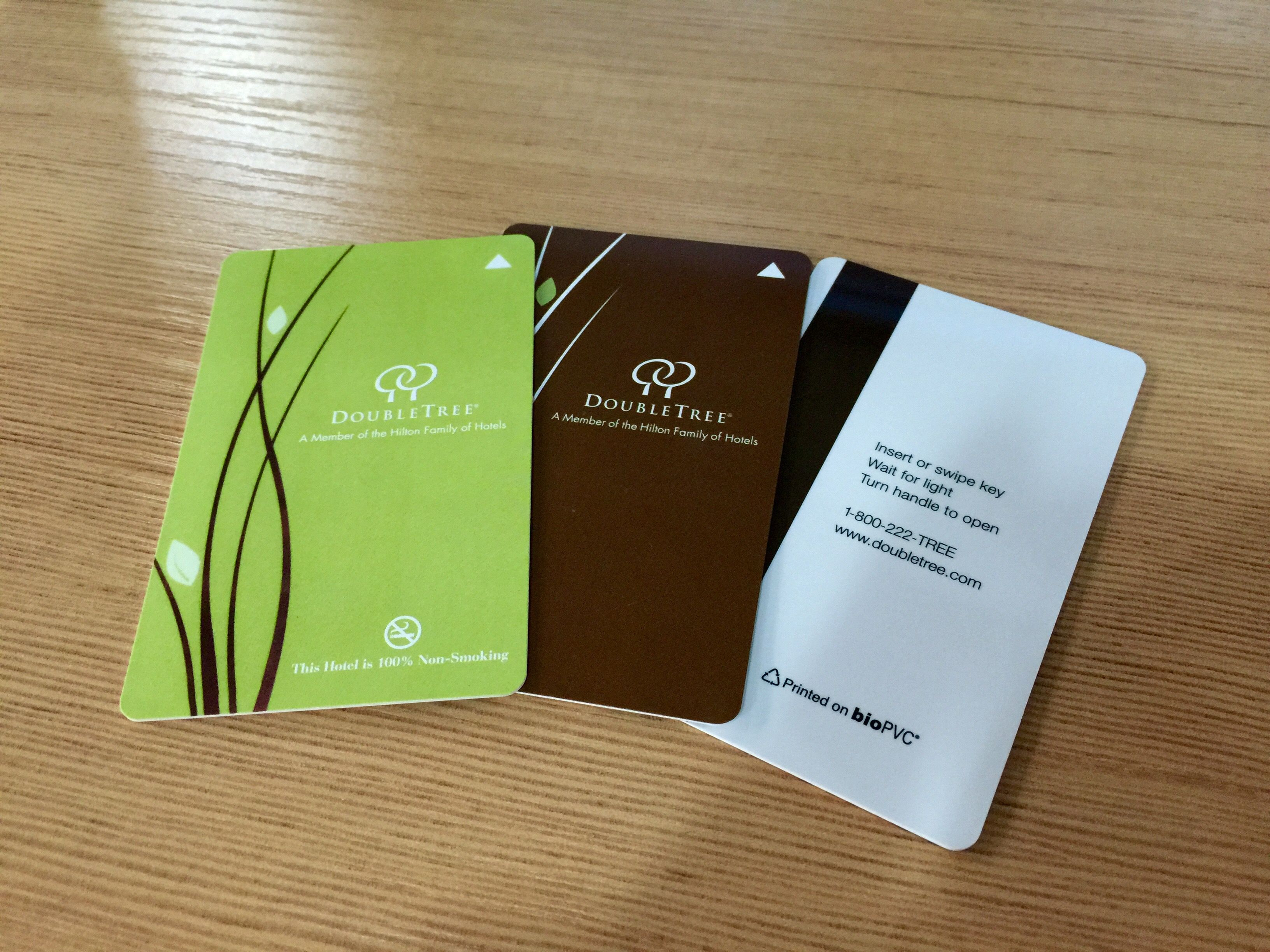 Biopvc Key Card For Double Tree Hotel Key Cards Cards Card Making