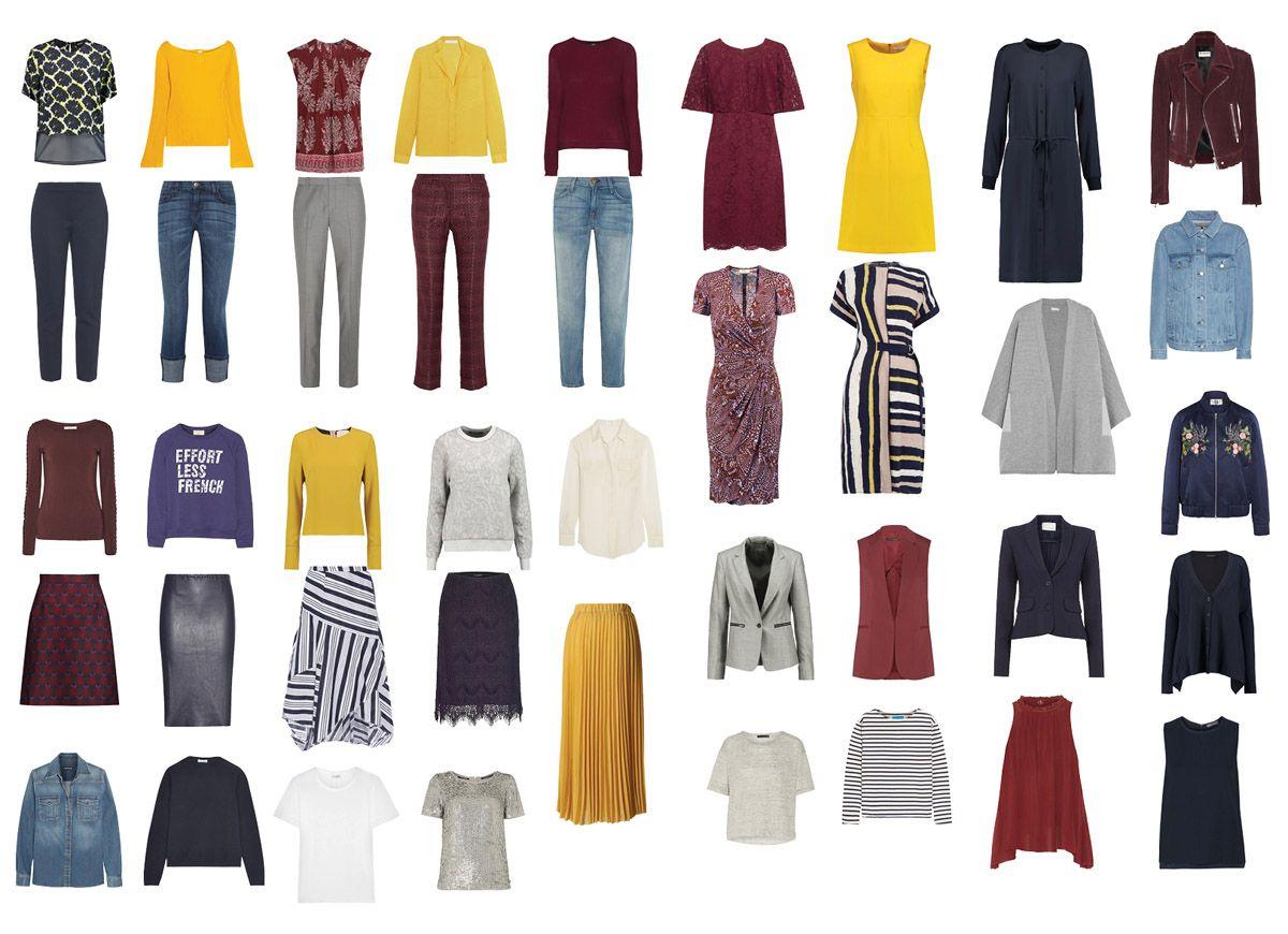 Полный капсульный гардероб | Кэжуал наряды, Женская офисная мода, Наряды