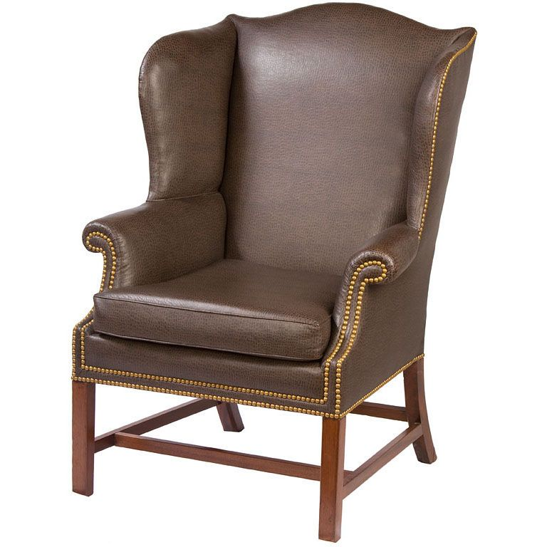 Period Chippendale Wing Chair | From a unique collection of antique and  modern wingback chairs at - Period Chippendale Wing Chair From A Unique Collection Of