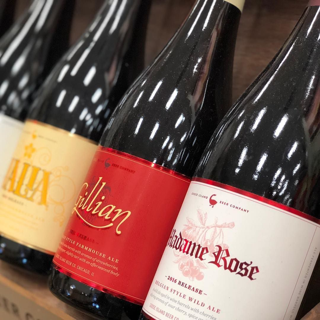 Perfect For Any Occasion Gooseisland Craftbeer Beerlovers Rejoice Treat Cheers Beer Craft Beer Farmhouse Ale