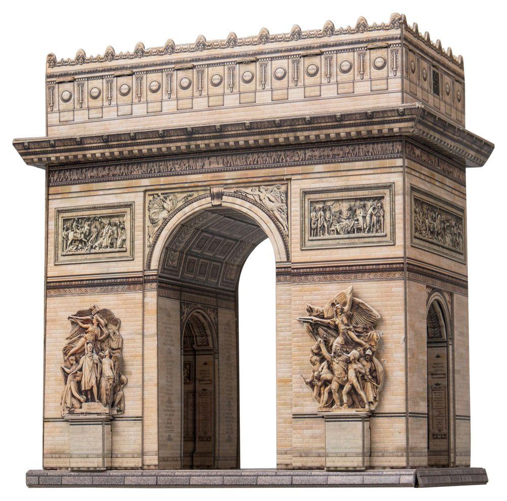 3D пазл «Триумфальная арка, Париж, Франция» Умная бумага