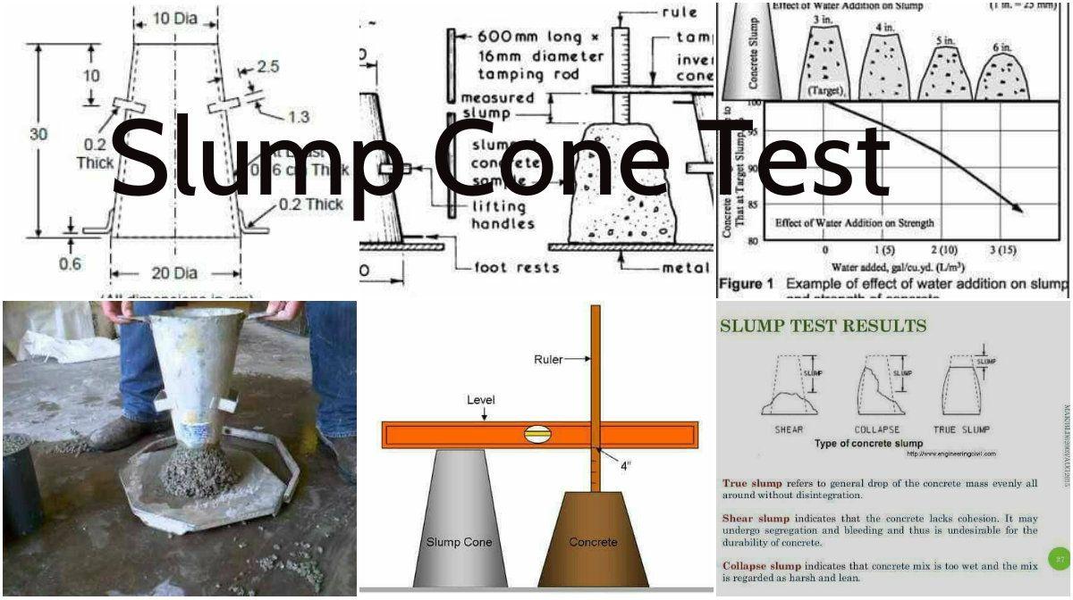 The Use Of The Concrete Slump Cone Test Architecture Admirers