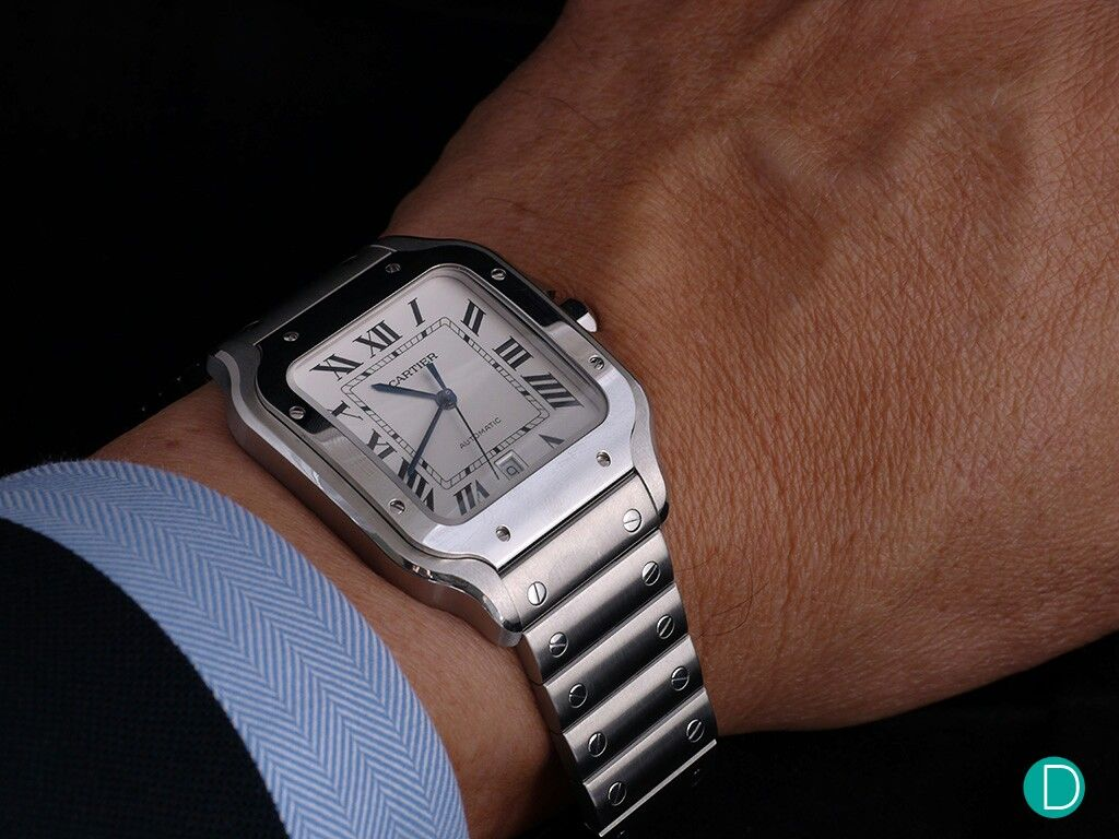 Smaller and Better The new Cartier Santos 2018