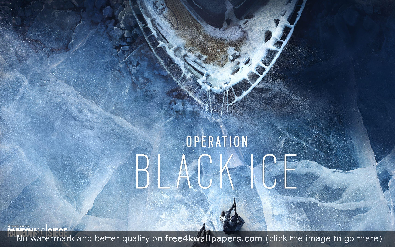 Rainbow Six Siege Operation Black Ice Hd Wallpaper Rainbow Black Ice Rainbow Wallpaper