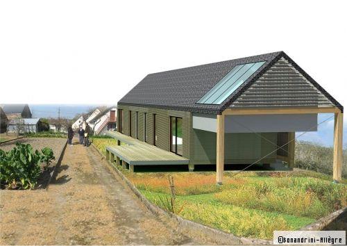 Plan de maison  la longère en bois répond à toutes les attentes d - Budget Pour Construire Une Maison