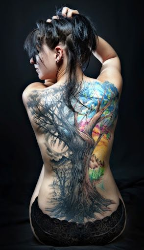 58 Coolest Tree Tattoos Designs And Ideas Cool Tattoos Tattoos Beautiful Tattoos