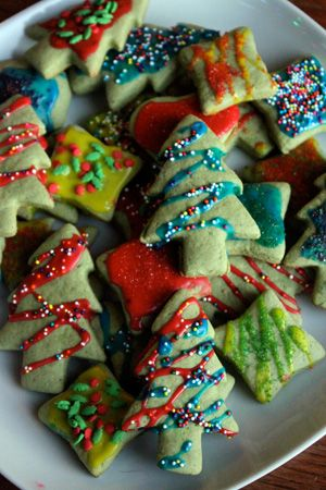Less Sugar Sugar Cookies It S Time For Christmas Cookies