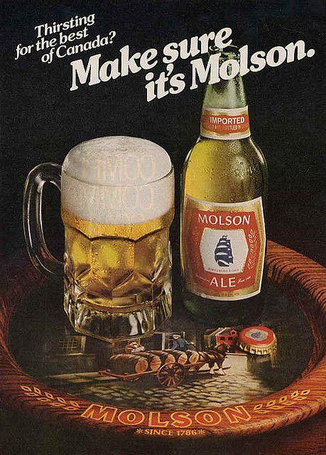 Make Sure Its A Molson Beer ArtBeer BrandsBeer