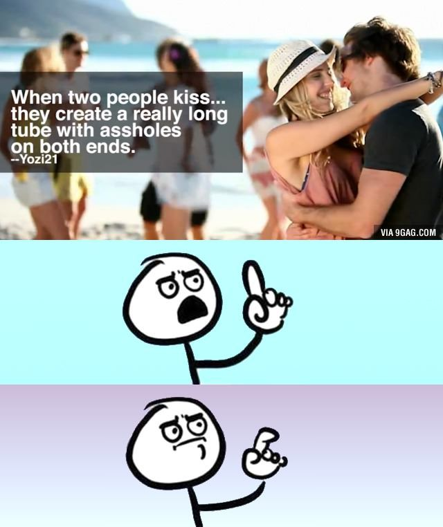 when two people kiss