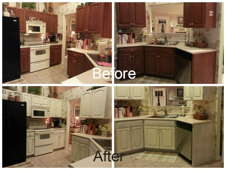 Kitchen Cabinet Overhaul Yes We Painted An Entire Kitchen In Just