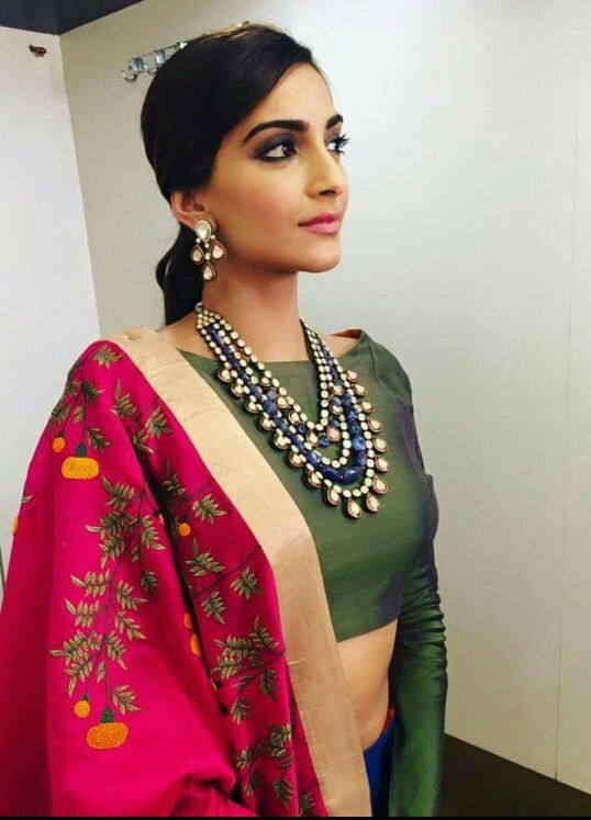 Love the look! | sarees | Pinterest
