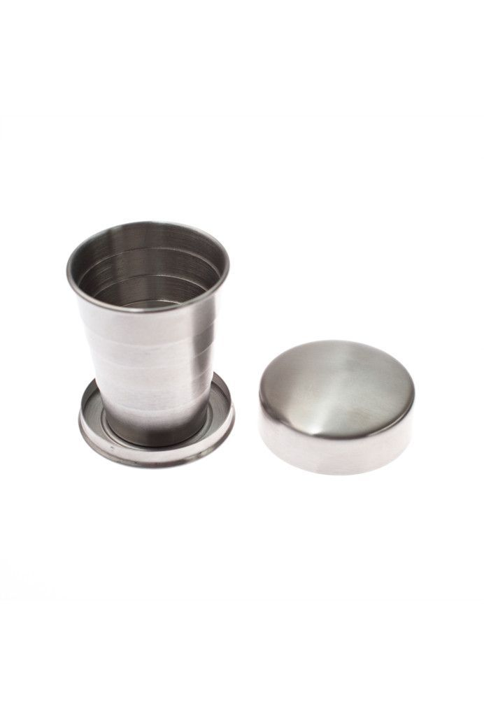 Izola Stainless Steel Collapsible Travel Cup