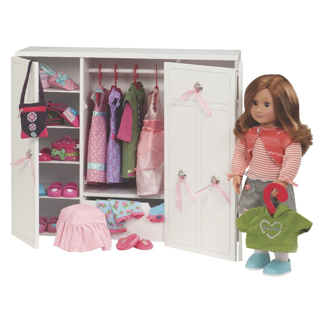 Our Generation Wooden Wardrobe America Girl Doll Houses