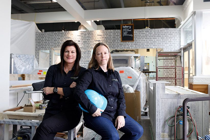 Thinking pink and profiting Women in trades capitalize on