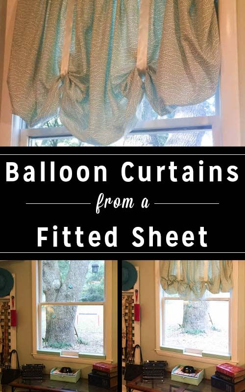 Diy Balloon Curtains From A Fitted Sheet Balloon Curtains