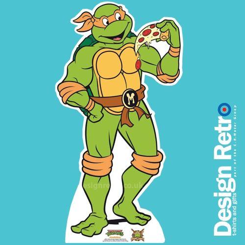ninja turtle life size cardboard ninja turtle michelangelo cut out