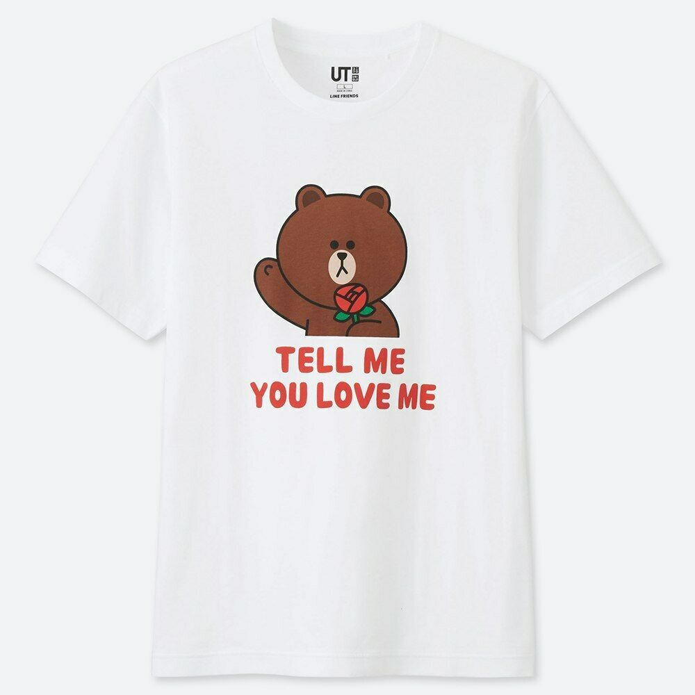 9a577a596 LINE FRIENDS Store Official Goods : UT Line Up Graphic Tee - Tell Me You  Love Me