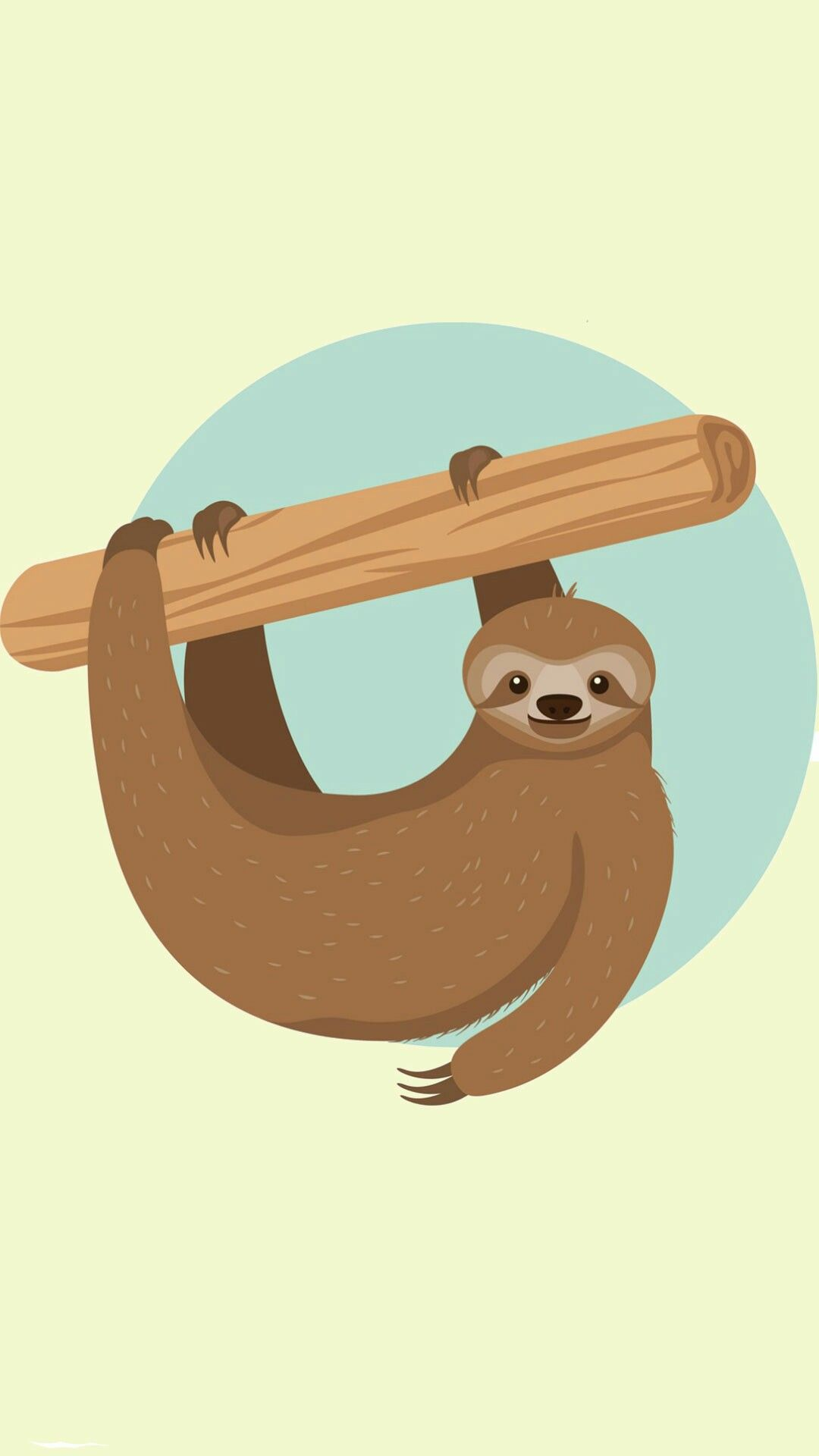 Sloth Wallpaper Sloth Art Sloth Sloth Drawing